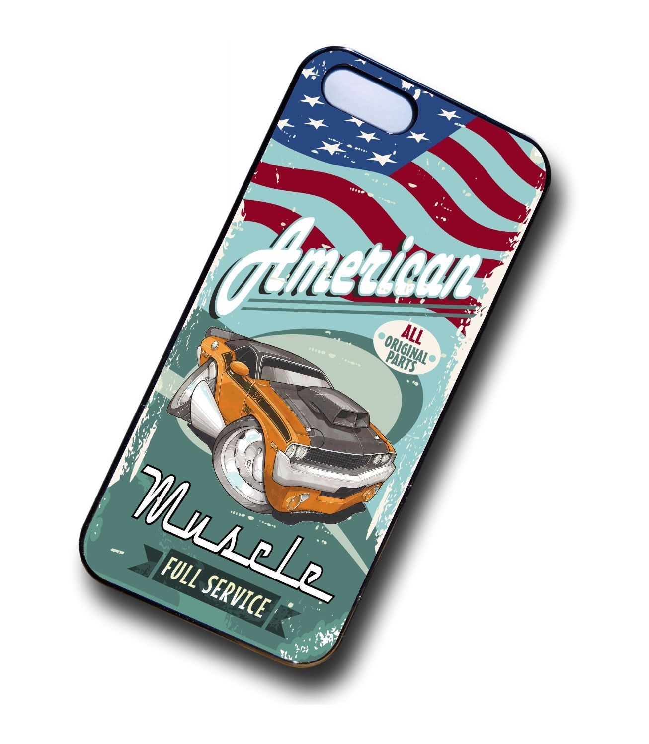 KOOLART AMERICAN MUSCLE Car Dodge Challenger 440 six pack Case For