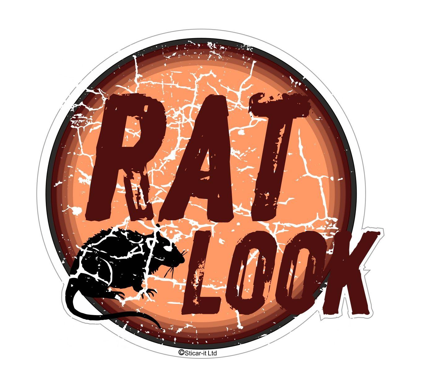 Distressed Aged Rat Look Circular Design For Rat Look Vw