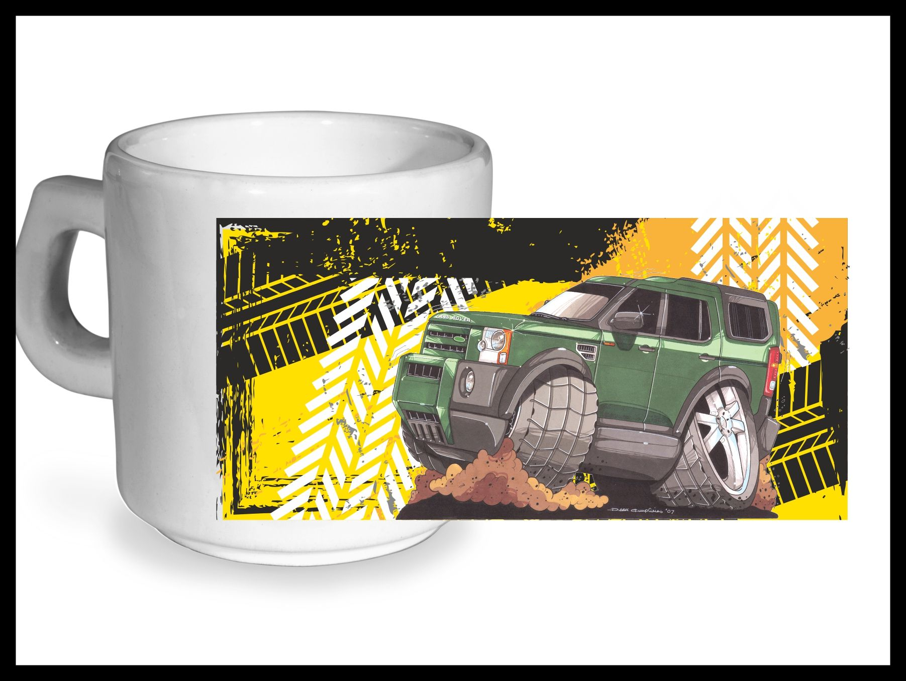 Koolart Tyre Trax 4x4 Design For New Land Rover Discovery 3 4